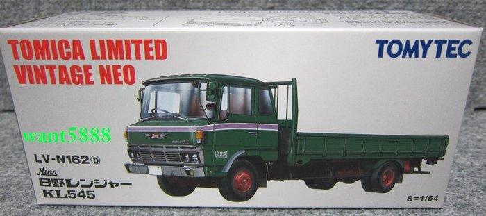 日本TOMYTEC TOMICA多美小汽車 LV-N162b 日野Ranger KL545