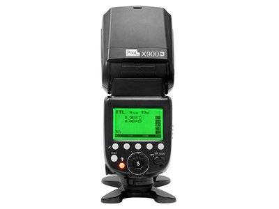 ~阿翔小舖~ 公司貨 品色Pixel X900N Nikon鋰電池閃光燈 內建KING-PRO 帶LED輔助燈 X900