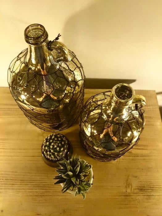 【曙muse】北歐精緻花瓶( 小)燻烤銀復古花色 loft 工業風 咖啡廳 民宿 餐廳 住家