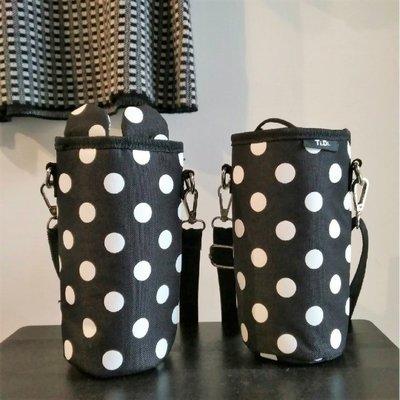 TiDi 保暖保冷 黑點點 奶瓶 飲料 水壺袋 外出方便 Made in Taiwan 有