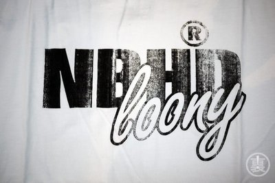 【URA 特價】Neighborhood 10 春夏隱藏款 初期經典復刻 NBHD loony 白黑 M/L  全新