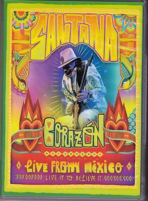 音樂居士#Santana ~ Corazon Live From Mexico 桑塔納~墨