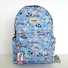 【YOGSBEAR】台灣製造 B 大容量 防水 耐重 後背包 休閒包 背包 書包 電腦包 媽媽包 YG10