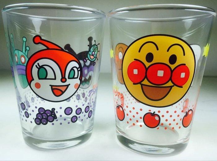 東京家族 日本進口麵包超人杯子組 玻璃杯 2入