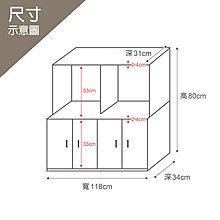 【優彼塑鋼】3.9尺梯形櫃/收納櫃/南亞塑鋼/品質保證/防水防霉/儲物整理櫃(G019)