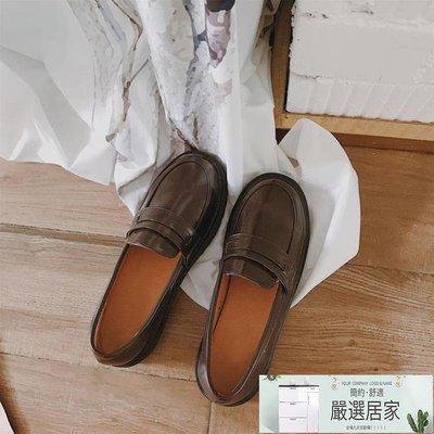 軟妹英倫學院風小皮鞋日繫原宿 JK制服鞋單鞋樂福鞋女【嚴選居家】