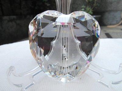 德國【ROSENTHAL】羅森泰 透明色+愛心造型 CRYSTAL 水晶紙鎮 擺飾 保證全新正品/真品 現貨在台