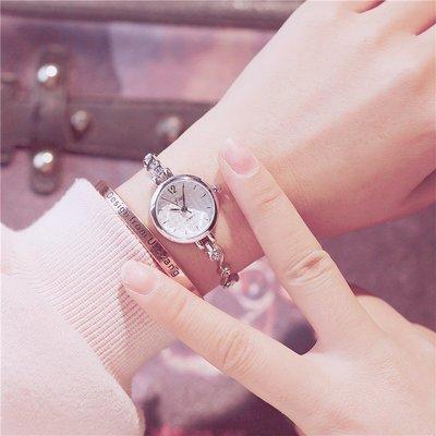 鐘錶手表女學生韓版簡約 潮流 ulzzang 手鏈式小清新氣質女款小巧大氣