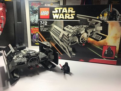 LEGO Star Wars - Darth Vader's TIE Fighter™ (8017)