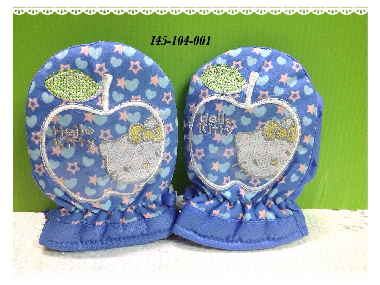 * QP小舖 * Sanrio《Hello Kitty》幼兒防風保暖手套(3S)