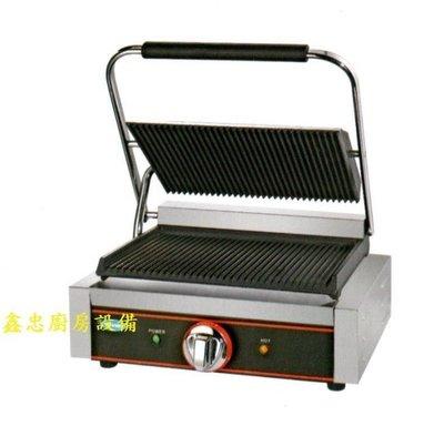 鑫忠廚房設備-餐飲設備:電力式大單片無煙燒烤帕里尼機-賣場有工作檯-咖啡機-西餐爐-烤箱