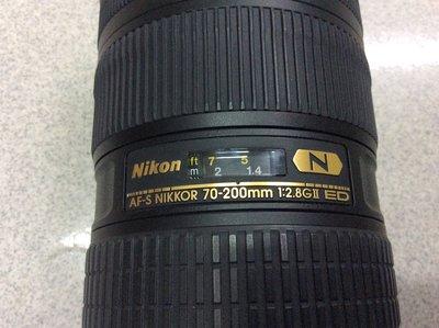 【明豐相機維修 ] NIKON 70-200mm F2.8 小黑六 自動對焦異常 無動作 清洗鏡頭 維修服務