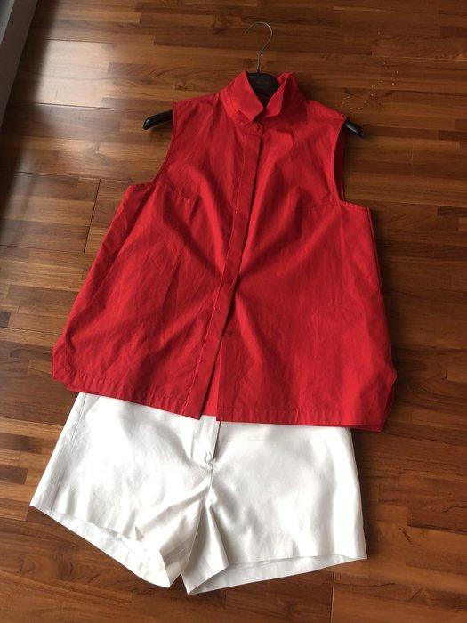 Selina的二手衣 夏姿shiatzy chen 上衣 襯衫
