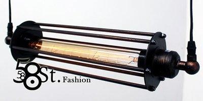 【58街燈飾-台中館】米蘭展設計款式「Contrary 正負極吊燈_單燈款」時尚設計師的燈。複刻版。GH-371