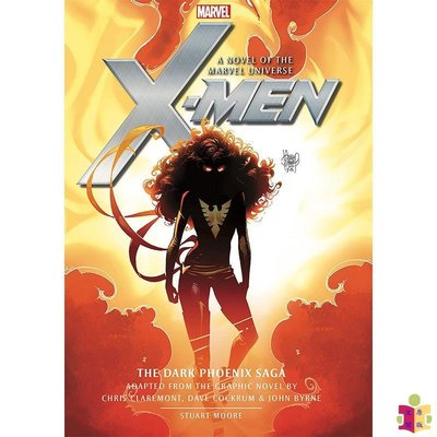 [文閲原版]X戰警:黑鳳凰(小說)英文原版 X-Men: The Dark Phoenix Saga Prose Novel 漫威漫畫 電影 小說