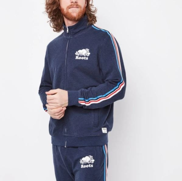 ~☆.•°莎莎~*~~☆~加拿大 ROOTS National Track Jacket 外套