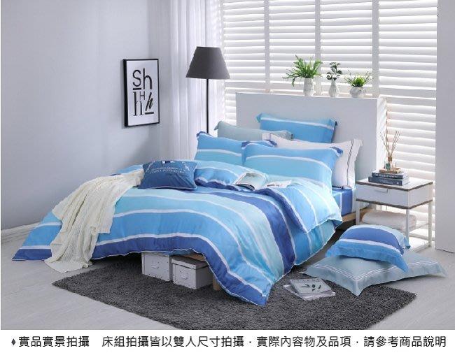 【限時大特價】 DR1007 布萊恩 特大雙人床包冬夏兩用被套四件組 300織 60S 萊賽爾天絲