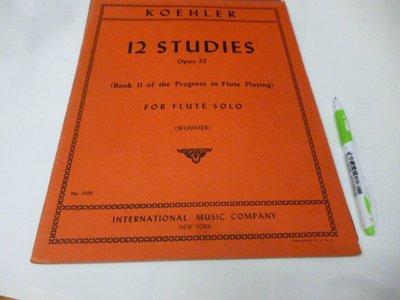 買滿500免運 / 崇倫《12 Studies  Opus 33》19頁 ///位置:琴 [窗/鑫] -請看清照片的版本