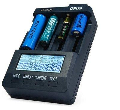 原裝正品 歐普 opus bt3100充電器 智能多功能 BC3100鎳氫充電器