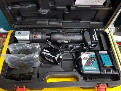 公司貨附保固 台灣製 OPT 18V 充電白鐵管壓接機 通用牧田電池--不可超商