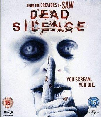 BD 全新英版【歡迎光臨死亡小鎮】【Dead Silence】Blu-ray 藍光