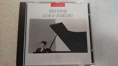 DAVID NEWTON VICTIM OF CIRCUMSTANCE  經典爵士鋼琴發燒錄音專輯LINN RECORDS 無ifpi版
