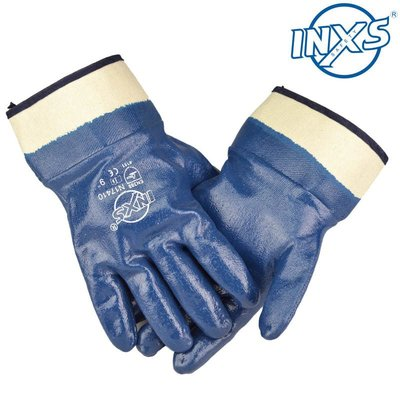 小滿~INXS賽立特N17410耐油手套 丁腈涂層耐磨手套 通用勞保手套#價格不同 規格不同#