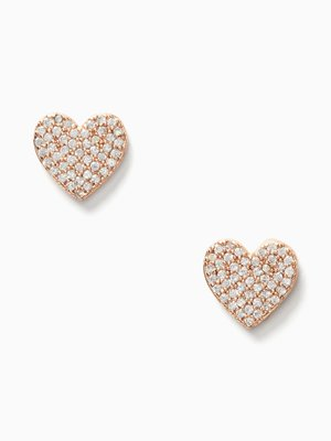 Kate Spade new york yours truly pave heart studs