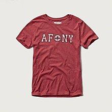 Maple麋鹿小舖 Abercrombie&Fitch * AF 女生印花字母短T  *( 現貨S號 )