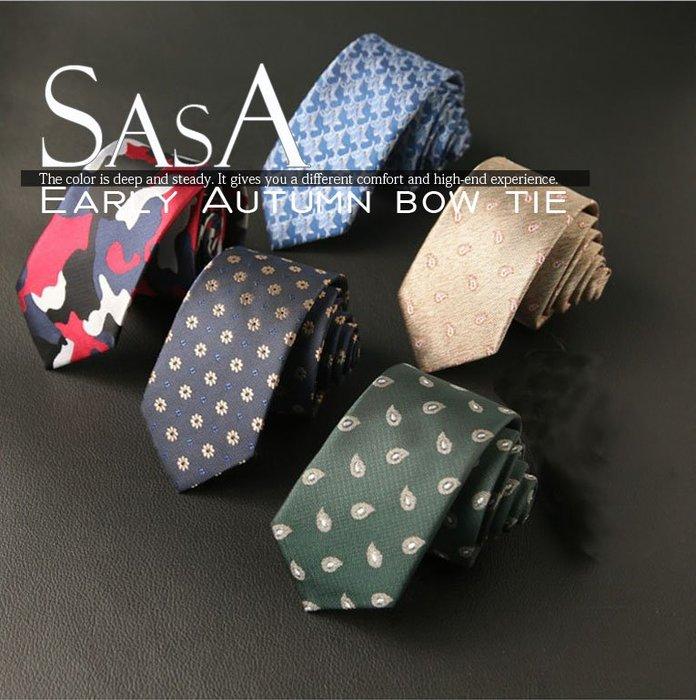 6CM窄版領帶 領結 手打領帶 結婚 正裝 伴郎 男士真絲商務領帶HG02男士韓版休閑領帶 上班領帶