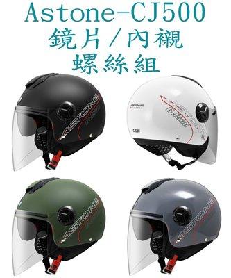 Astone CJ500 安全帽 配件 五彩鏡片 電鍍鏡片