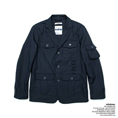 【 WEARCOME 】WISDOM® APPAREL MILITARY MULTI-POCKET SUITS 西裝外套
