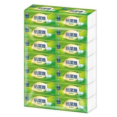 代購~9/11刷卡(箱購869含運)倍潔雅柔軟舒適抽取式衛生紙150抽(6串x14包,1箱84包)另有80包.60包