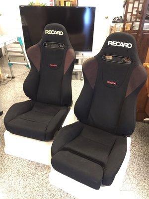 【JP.com】中古美品 Recaro SP-Z 賽車椅一對 快傾/充氣腰靠/大腿支撐/旋鈕可調