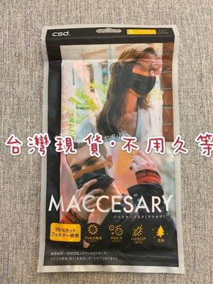 CSD中衛日本防塵口罩-古銅撞黑