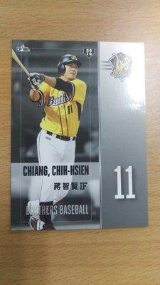 蔣智賢 2016 中華職棒球員卡