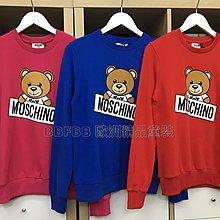 [現貨14y] Moschino 童裝款熊熊刷毛衛衣 運費優惠 其他尺寸款式可留言詢問