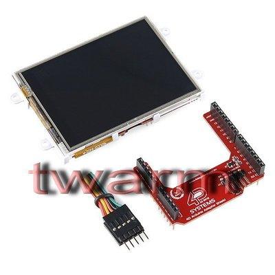 "《德源科技》r)Arduino Display Module-3.2""Touchscreen LCD(LCD-11741"