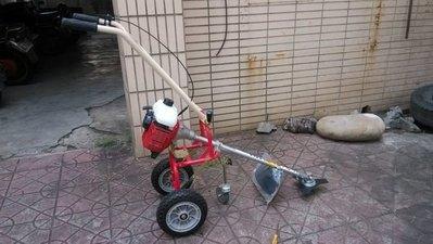 全新U-MO台灣製G45L三輪推式割草機(輕巧/靈活/折疊收納/針對障礙物多的環境設計--免運費