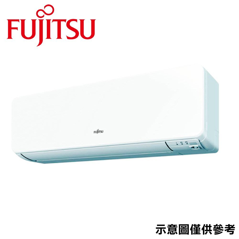 FUJITSU富士通 10-11坪 R32變頻冷暖分離式冷氣 ASCG063KGTA/AOCG063KGTA