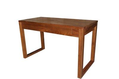塔森柚木家具-全柚木書桌/電腦桌DE-2