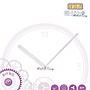 【鐘錶通】J118088 白色指針 /  分針11.8公分...