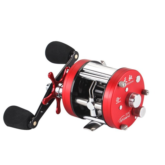 天馭鼓捲全金屬雷強捲磁力離心雙剎車打雷打虎鼓式捲線器路亞雙軸捲線器防炸線
