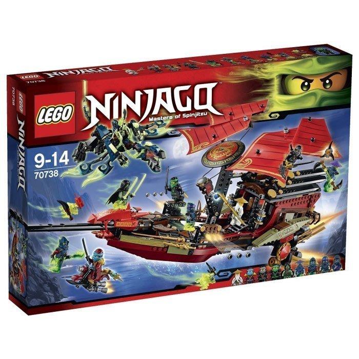 現貨【LEGO 樂高 】100% 全新正品 益智玩具 積木 / Ninjago 忍者系列:使命號之最終決戰 70738