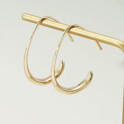 耳環 耳飾 正韓 冷淡風耳圈小眾設計感...