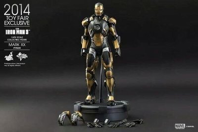 全新啡盒未開 Hottoys Marvel Ironman 3 Mark XX 玩具狂熱 復仇者聯盟 鐵甲奇俠 MK20 Avengers  Iron man
