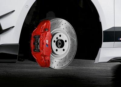 【樂駒】BMW F48 X1 M-Performance 前四後單 煞車系統 紅色卡鉗 改裝升級 制動