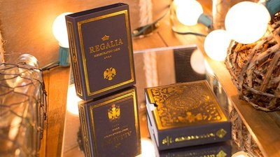 [fun magic] 燙金撲克牌 Regalia deck 王權撲克牌 Shin Lim撲克牌 收藏牌