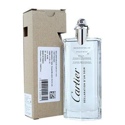 ☆YOYO小棧☆ Cartier Declaration 卡地亞 宣言之夜 淡香水 100ML TESTER 環保盒