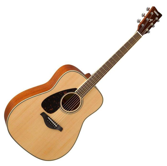 【六絃樂器】全新 Yamaha FG820L NT 左手專用民謠吉他 / 現貨特價